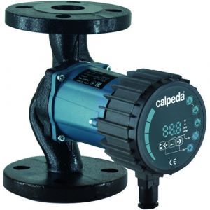 Calpeda NCE H 50F-100/240 Flanged Energy Efficient Circulator Pump