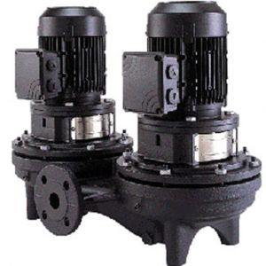 TPD Single Stage Twin Head In-Line Pumps 4 Pole 415V