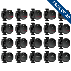 Grundfos UPS3 15-50/65 (130) Domestic Heating Circulator 240V Trade Pack of 20