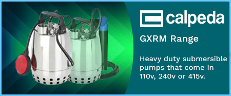 GXRm Submersible Drainage Pumps 240V