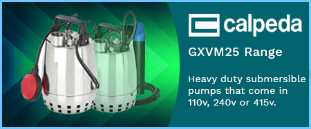 GXV(M)25 Submersible Drainage Pumps