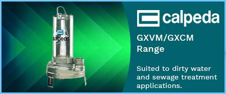 GXV/GXC Waste Water Pumps 415V