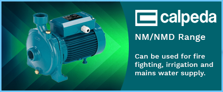 NM Threaded End Suction Pumps 415V