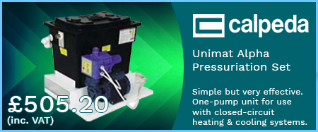 Unimat Alpha Pressurisation Set 240v