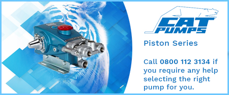 Piston Pumps - Solid Shaft - 316 Stainless Steel Manifold
