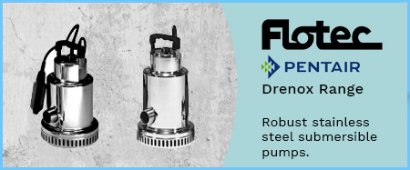 Drenox Stainless Steel Submersible Pumps