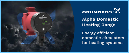 Alpha Domestic Heating Circulator Pumps