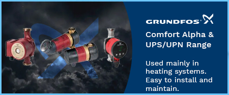 Comfort, Alpha and UPS/UPN Hot Water Circulators