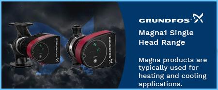 Magna1 Single Head Variable Speed Circulators 240v
