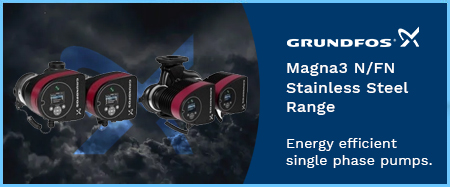 Magna3 F/FN Stainless Steel Circulators