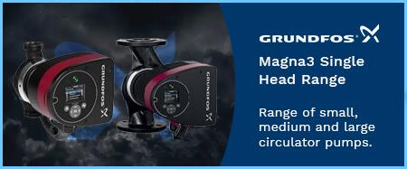 Magna3 Single Head Circulators 240v