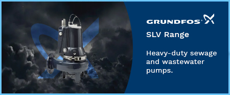SLV Sewage Pumps with Auto-Adapt