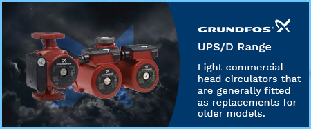 UPSD Light Commercial Twin Head Circulators