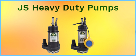 JS Heavy Duty Submersible Pumps 240V