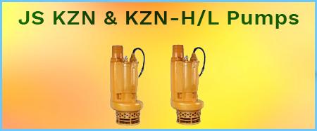 JST KZN & KZN-H/L Heavy Duty Sludge & Slurry Pumps 415V