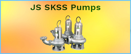JS SKSS 316 Stainless Steel Single Channel Cutter Pumps