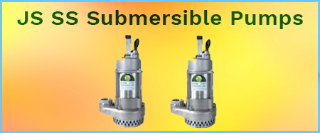 JS SS 316 Stainless Steel Submersible Drainage Pumps 415v