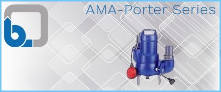 KSB AMA-Porter Submersible Waste Water Pumps 415V
