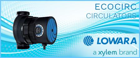 Lowara Ecocirc Domestic Circulators