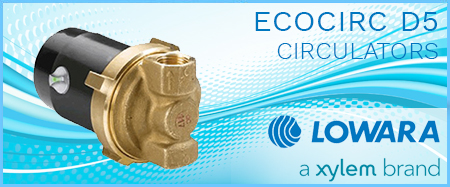 Lowara Ecocirc D5 Vario Circulators