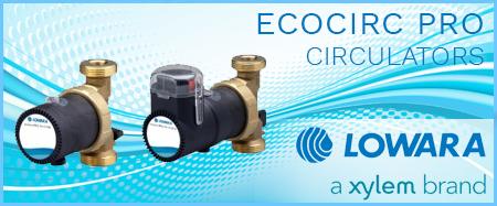 Lowara Ecocirc Pro Bronze Circulators