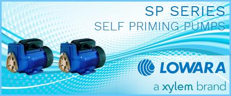 Lowara SP Self Priming Peripheral Pumps