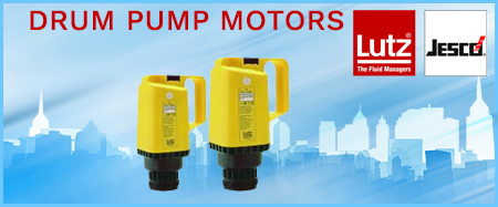 Lutz Drum Pump Motors