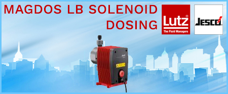 Lutz-Jesco Magdos LB Solenoid Dosing Pumps