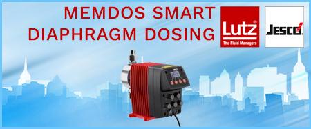 Lutz-Jesco Memdos Smart Diaphragm Dosing Pumps