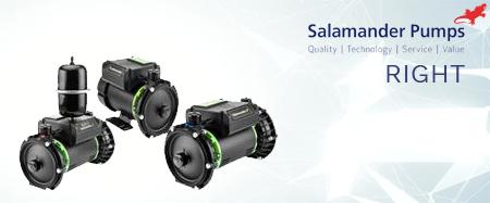 Salamander Right Shower & Home Pumps