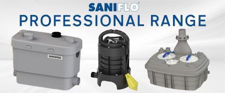 Saniflo Professional Range