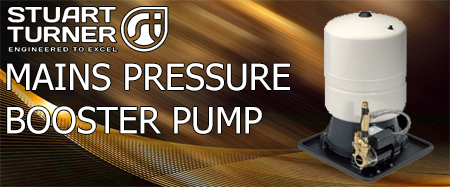 Mains Pressure Booster Pump 240V