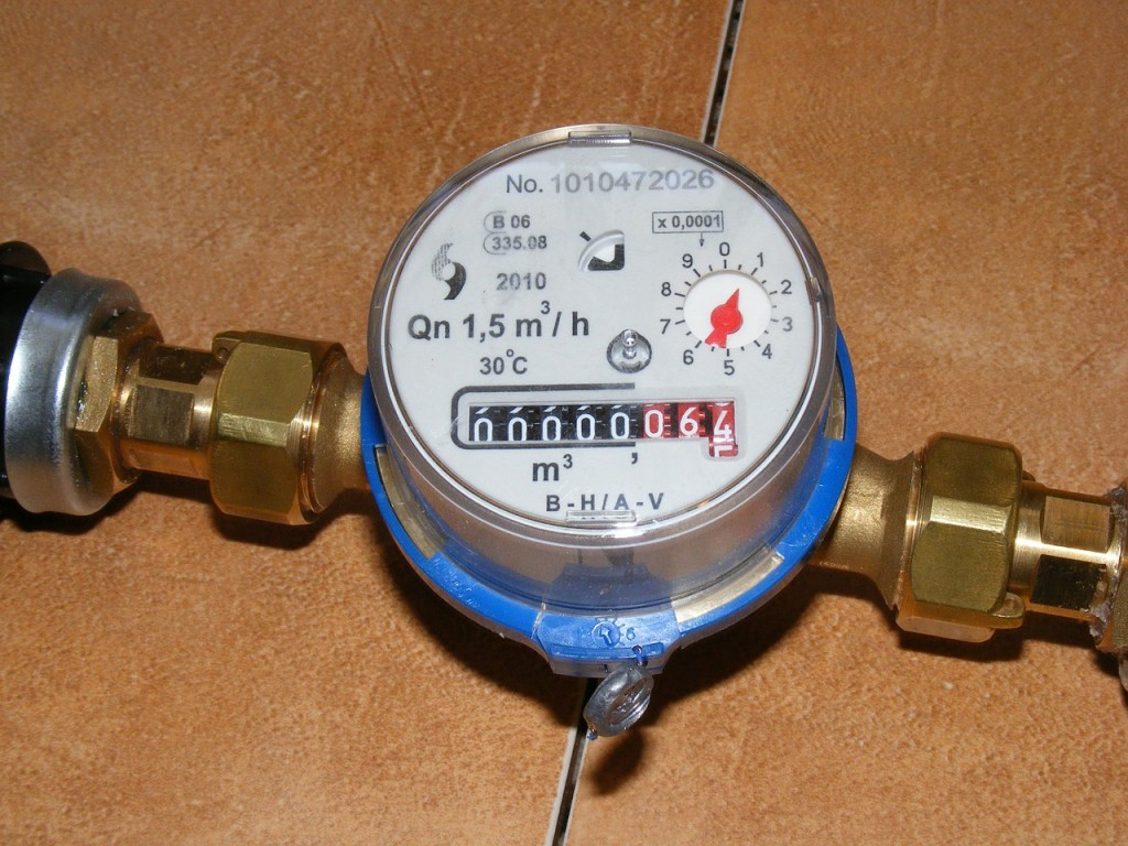 image showing the user what a water meter looks like