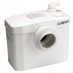 picture of a saniflo single toilet system