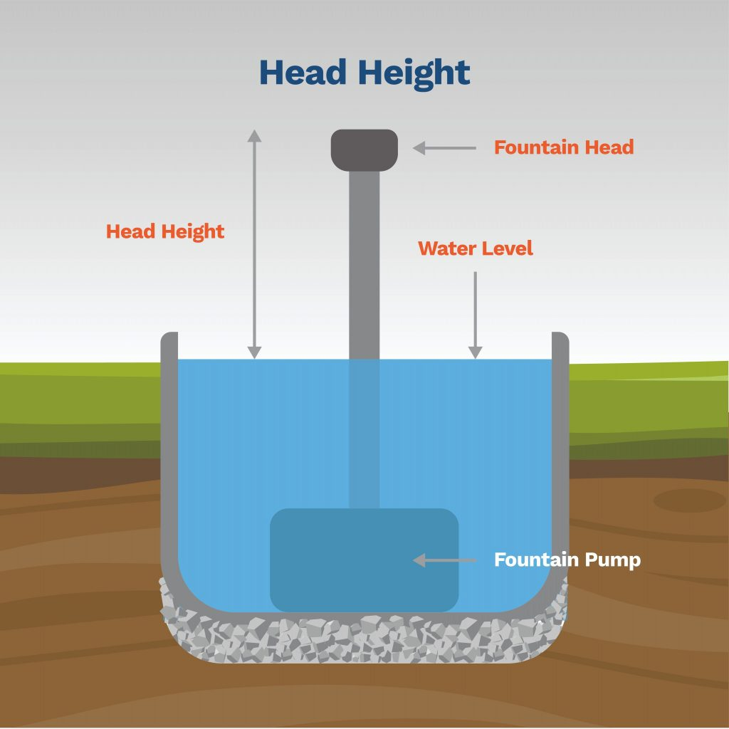 image explaining what head height is and how to calculate it